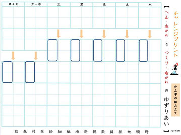 東京の硬筆教室の小学生中学生高校生大学生大人対象のテキストです。手本に頼らず書くトレーニングが必要です。