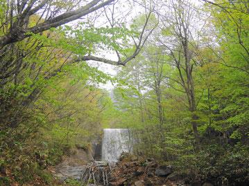 ペンションからちょっと歩くと川もあります。夏はもっと涼むことができるかな~
