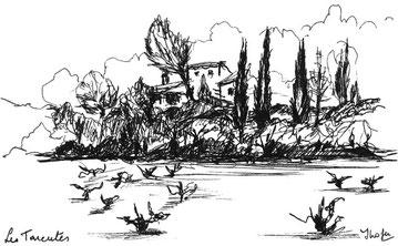 """la colline des """"Tarentes"""" Jardin à Lire"""