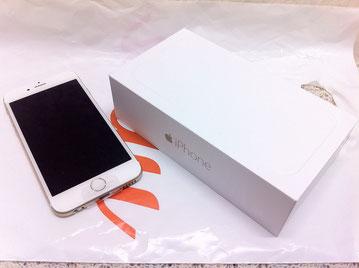 au、iPhone6ゴールド