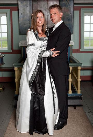 Mittelalter,Hochzeit,Brautkleid,Gothic,weißMaßanfertigung
