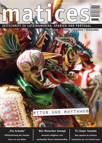 Matices 85: Ritus und Rhythmus