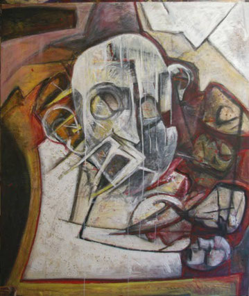 Acrylique sur toile -  145x176
