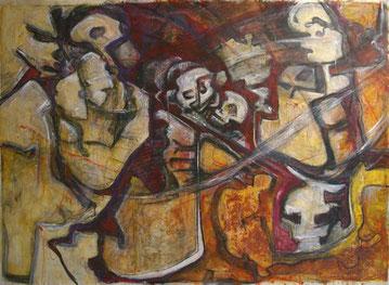 Acrylique sur toile - 205x150