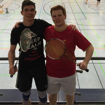 Timo und Matthias (r.)