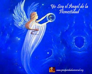 ÁNGELES DE LUZ DIVINA - YO SOY EL ÁNGEL DE LA HONESTIDAD - PROSPERIDAD UNIVERSAL -www.prosperidaduniversal.org