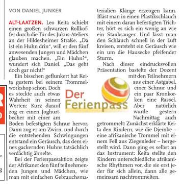 Leine-Nachrichten 02.07.2010