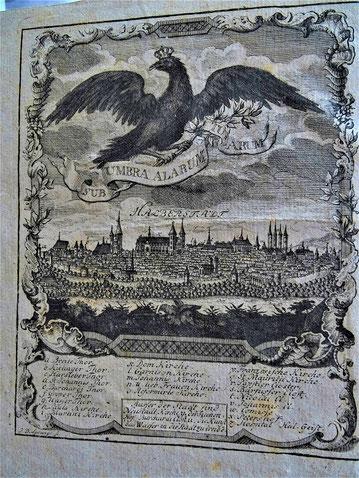 Halberstadt in einem Buch von 1794 (Titel siehe weiter unten)