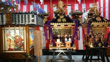 平成28年6月11日、12日:隅田稲荷神社