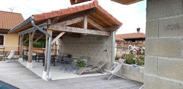 aménagement terrasse - couverture terrasse sur mesure
