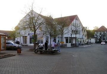 Ansicht der Schlossstraße 1 um 2012 - Schleckerfiliale bis Juni 2012