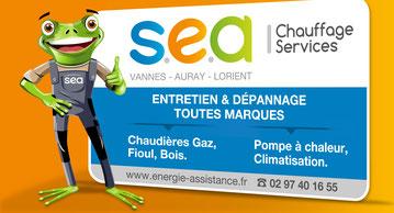 Logo S.E.A la Grenouille