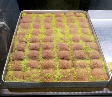Baklava in Bäckerei Türkei