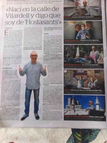 Reportatge del Periódico sobre l'Alfred Picó