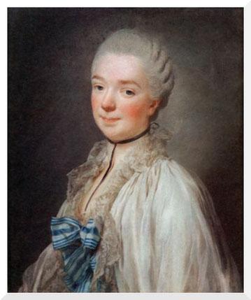 Gemälde von Alexander Roslin - Portrait de la duchesse de Grammont (1774)