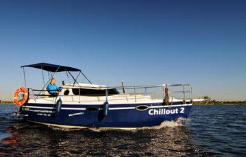 Hausboot SUNHORSE 25 | 4-6 Kojen | ohne Führerschein
