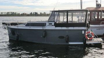 Hausboot CALIPSO 750 KOMFORT | 6 Kojen, 1 kleine Bugkabine | ohne