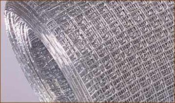 CRIBA  GRANO DE PLATA GALVANIZADA ROLLOS DE 91 cm DE ALTO