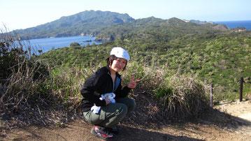 南崎 小富士山頂です