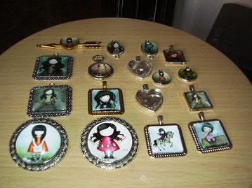 Medallas de todos tamaños y formas gorjuss
