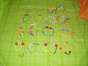 Pulseras Artesanales Arcoiris