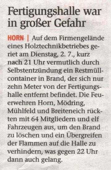 NÖN Horn/Eggenburg KW 28/13