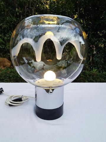 Tony Zuccheri lampe en verre de murano circa 1970