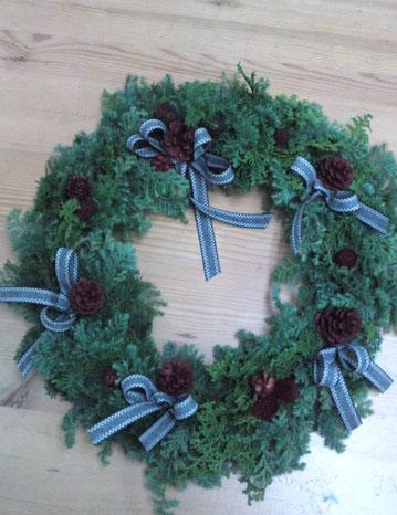 2016年 12月クリスマスリース