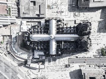 Unberührt und ungedreht: Der Dom in Köln