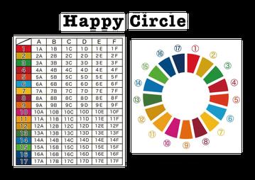 "SDGs ボードゲーム ""Happy Circle"""