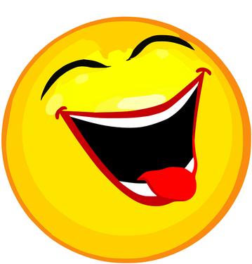 Smiley kugelt sich weg (Foto: Pixabay)