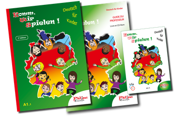 KOMM WIR SPIELEN, allemand A1.1, Philipus Education