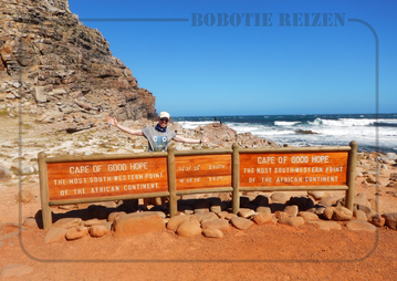 Rondreis Zuid-Afrika Safari Bobotie Reizen Cape of Good Hope