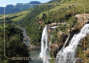 Rondreis Zuid-Afrika Safari Bobotie Reizen Panorama route waterval