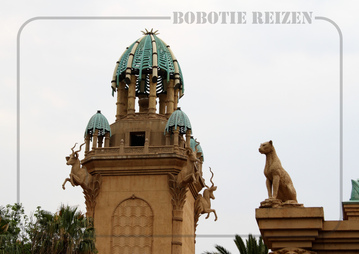 Rondreis Zuid-Afrika Safari Bobotie Reizen Sun City Palace of lost City