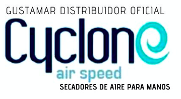 PROVEEDORES DEL SECADOR DE MANOS CYCLONE CO2AS ANTISALPICADURAS