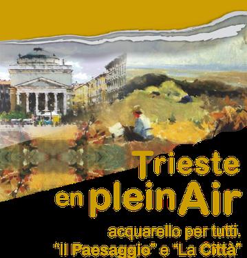 Trieste corsi arte estivi, Trieste en Plein Air, acquarello
