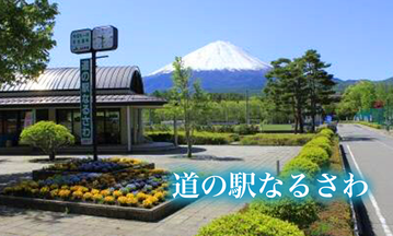 変わり種ソフト、ほんのりピンク色の「富士桜ソフトクリーム」が好評です