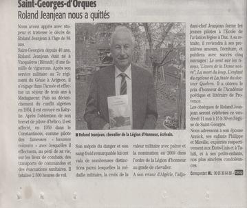 Article de presse Roland JEANJEAN aaalat-languedoc-roussillon.fr