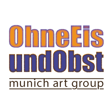 Logo OhneEisundObst, munich art group