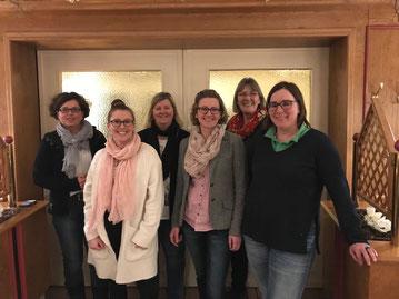 Von links: Antje Klingelhöfer, Emelie Kahle, Frauke Walter, Nicole Kahle, Andrea Paulsen, Katja Semrau (Christina Gerdts nicht anwesend)     (Foto: FW)