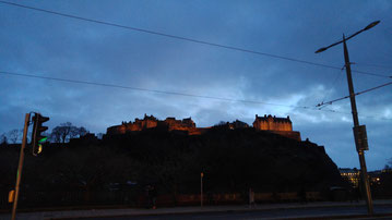 Edinburgh Castle nachts