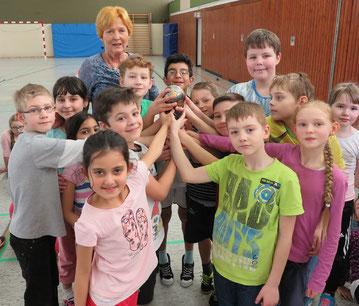 Da freuten sich die Schülerinnen und Schüler der Klasse 3d von Christina Oeser