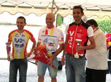 Thierry troisième du championnat du Gard