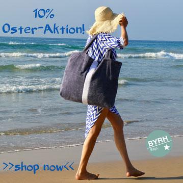 BYRH Oster-Aktion 2018 - Beachbags, Strandtaschen, Poolbags, Clutch, Sommertaschen