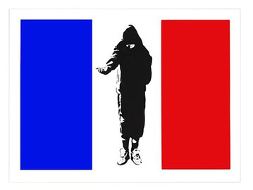 Blek le Rat Homeless in Paris