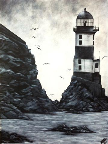 """""""Light the house"""", 2012,  acrylic on canvas, 60x80"""