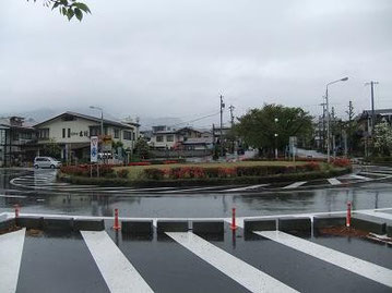 飯田市吾妻町ロータリー