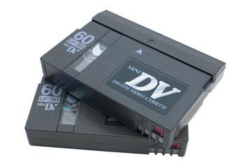 Wir digitaliseren MinDV Kassetten mit modernester Technik und brennen sie auf DVD, Blu ray, Festplatte oder USB-Stick.