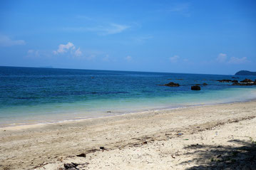 Strand und Meer auf Koh Jum